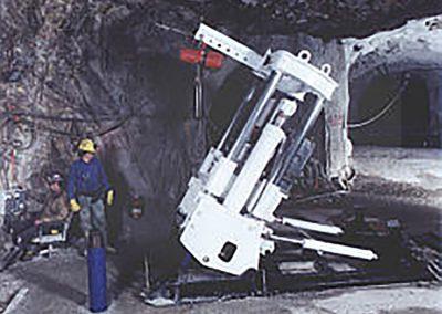 One of Raisebor's three 41R's at an underground site in Colorado.
